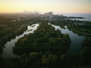 melissa farlow aerial view of jackson park in chicago 300x225 URBAN FARMING