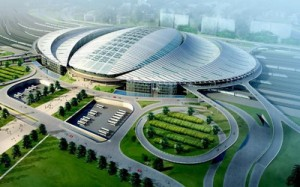 Beijing South Railway Station 300x187 Solar Train Stations on the way all abroad