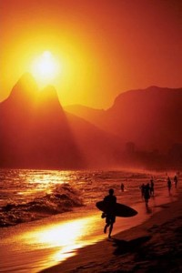 lgpp30903+ipanema beach at sunset rio de janeiro brazil south america poster1 200x300 Solar Energy Production Shines On Brazil